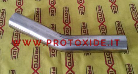 Curva in acciaio inox 30° diametro 54mm esterno spessore 1.5 ...