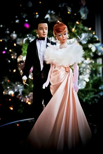 Christmas Barbie en Ken