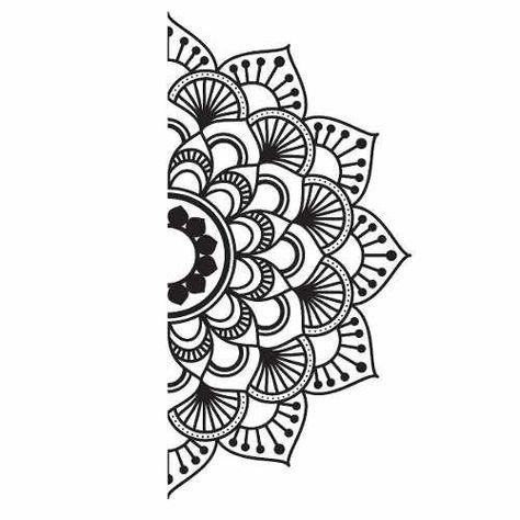 Kit De Vinilo Mandala #tattoohouse Kit De Vinilo Mandala - Comprar en Mister Vinilikus