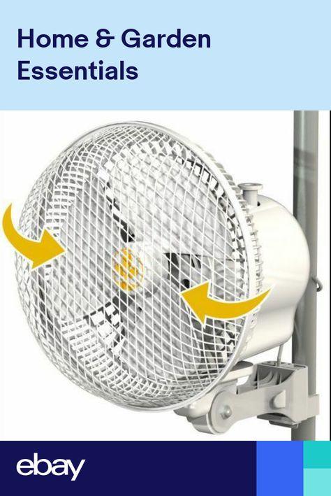 Secret Jardin 6 Monkey Oscillating Fan 20w Clip On Grow Tent Poles Tent Poles Grow Tent Oscillating Fans