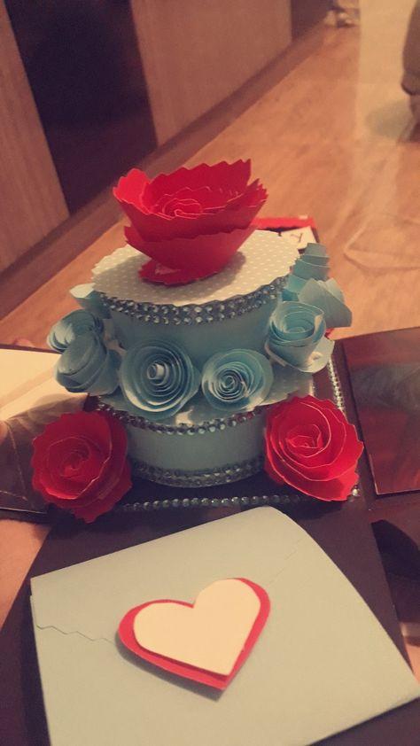 #romantico #caixaexplosiva #namorado #flor