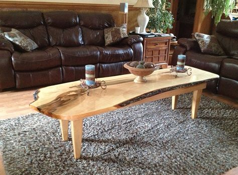 live edge coffee table 2015 personal best contest third place rh pinterest ru