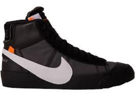 "meet 67760 929e8 Off-White x Nike Blazer Mid ""Grim Reepers""AA3832-001 10 3 18 release Size 9    eBay"
