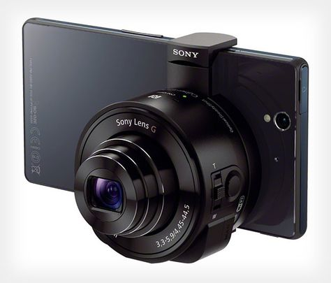 Sonys Lens Cameras via petapixel: Smartphone-attachable lenses — complete with built-in sensor and processor  #Camera #Smartphone #Sony