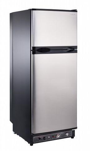 Unique 10 Cu Ft Propane Refrigerator Dual Power Propane 110v High End Interior 2 1 Cu Ft Freezer Ugp10c S S Stainless With Images Propane Refrigerators Refrigerator Freezer Solar Refrigerator