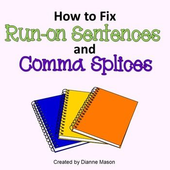 How To Fix Run On Sentences And Comma Splices With Images Run