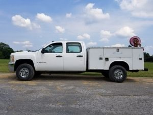 2008 Chevy 3500 Hd 4x4 Crew Cab Diesel Utility Truck With Images Trucks For Sale Work Truck Trucks