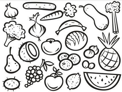 Fruit Coloring Sheet Pdf Images