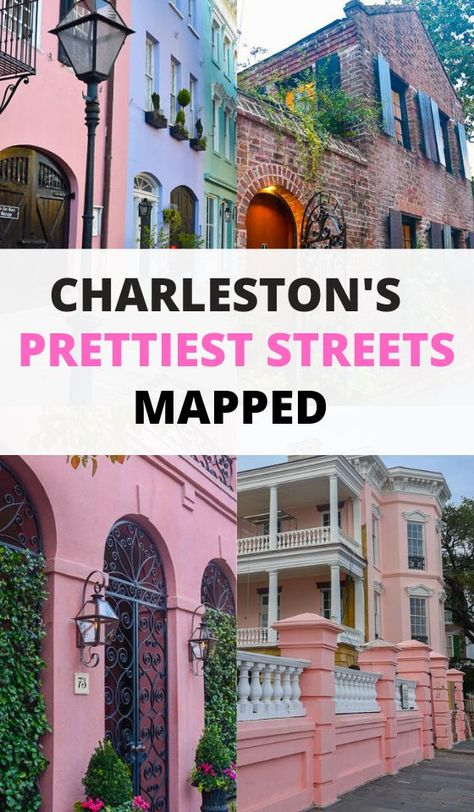 Charleston South Carolina has some of the prettiest streets in the USA absolutely perfect for photography If you are coming to SC South of Broad in Charleston has some of. Charleston South Carolina, South Carolina Vacation, Charleston Tours, Restaurants In Charleston Sc, Folly Beach South Carolina, Moving To South Carolina, Downtown Charleston Sc, Charleston Beaches, Oh The Places You'll Go