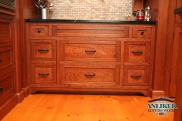 Kitchens - traditional - kitchen cabinets - other metro - Anliker Custom Wood, Ltd