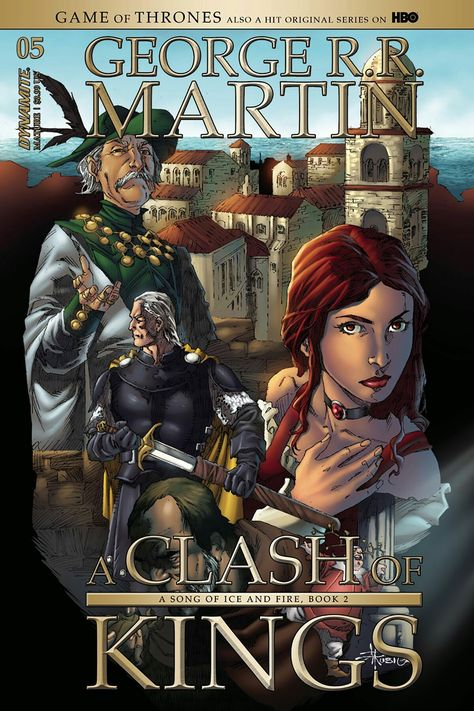 A Clash Of Kings Comic Book Issue 5 Art By Mel Rubi For Dynamite