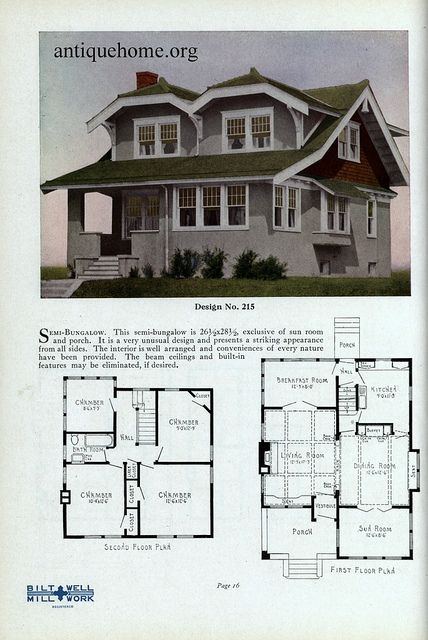 Practical Homes 1926 Craftsman House Plans Beach House Decor Sims House Design