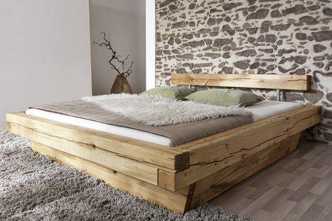 Massivholzbetten rustikal  holzbett - Google-Suche | Holzbett | Pinterest | Bedrooms ...