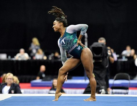 Gymnastics continues: Simone Biles back for night two of