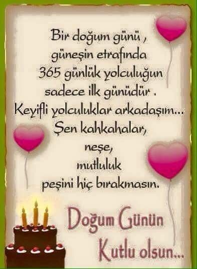 Pin Von Sultan Citak Auf Dogum Gunu Geburtstag Geburt Karten