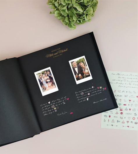Every bride and groom wants to remember her special day for the rest of her life, and what better way to commemorate the big day than with gorgeous instant photos of your guests? Instax cameras are hot on trend for weddings right now, and more couples are using them on their wedding day as a fun,
