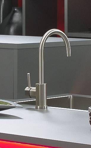 Grosser Runder Wasserhahn Kuchenamatur Waschamatur Aus Edelstahl Fur Eine Moderne Kuche Kuchengalerie Kuche Kuchenamatur