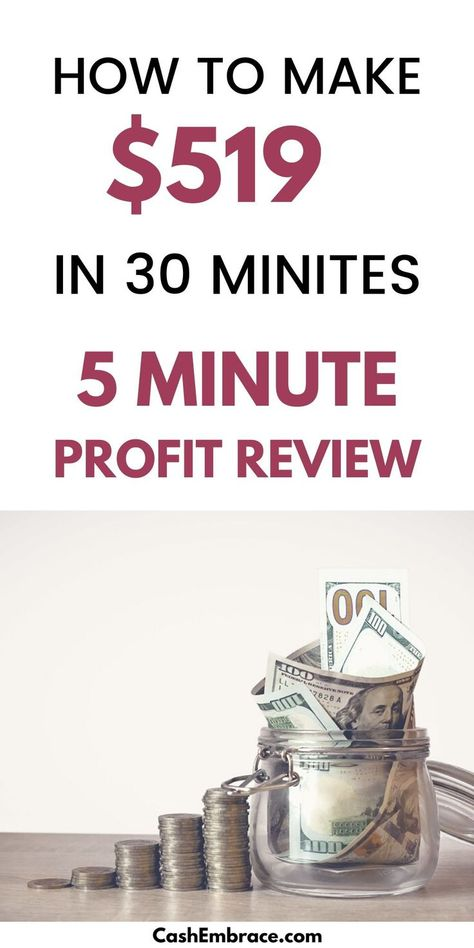 Can You Make $519 In 30 Minutes With One Affiliate Program