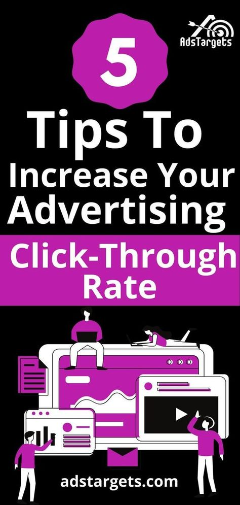 5 Tips To Increase Your Advertising Click Through Rate (CTR%) | AdsTargets