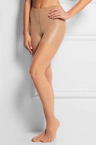 Wolford - Individual 10 Denier Control Tights - Sand - x small