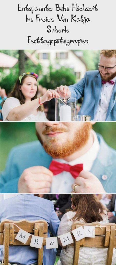 Entspannte Boho Hochzeit Im Freien Von Katja Scherle Festtagsfotografien