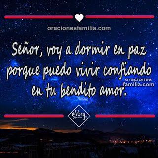 Oración De La Noche Para La Protección De La Familia Oraciones De La Familia Oración De La Noche Oracion Para Dormir Bien Oraciones
