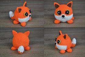 Ravelry: Oscar the Fox Amigurumi pattern by Ida Herter | 188x280
