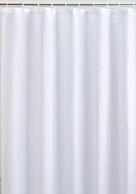 Amazon Com Liba Mildew Resistant Fabric Shower Curtain And