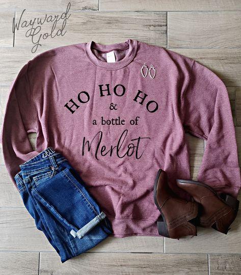 Funny Christmas Sweaters, Christmas Humor, Holiday Sweaters, Womens Christmas, Christmas Outfits, Gold Christmas, Funny Sweatshirts, Vinyl Shirts, Shopping