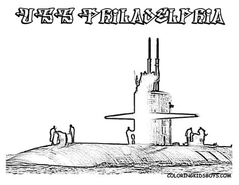 submarine 24 uss louisiana coloring pages book f happy submarine day pinterest - Submarine Coloring Pages Print