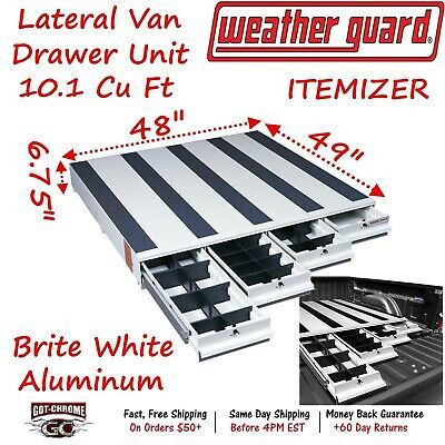 Site Diytools Site Composite 318 3 Weather Guard Van Storage Aluminum Itemizer Lateral 4 Drawer Unit Tools V 2019 G