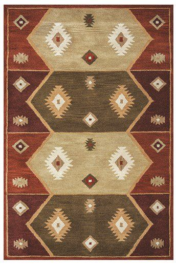 Rizzy Home Southwest Su 1937 Rugs Rugs Direct Tribal Area Rug Southwest Area Rugs Tan Rug
