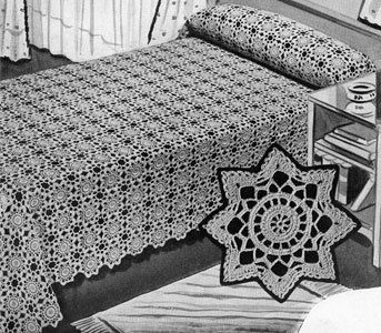 Add an instant splash of elegance to your home with the 1940 Delicate Snowflake Crochet Blanket Pattern. Creating a beautiful lacy snowflake motif throughout the pattern, this crochet afghan is a dream come true. It's delicate, graceful, and absolutely stunning.
