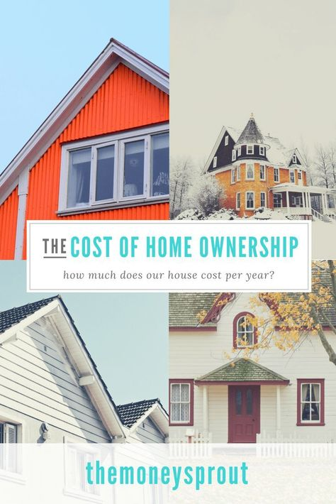 How Much Does It Really Cost To Own A Home Home Ownership Buying First Home House Cost
