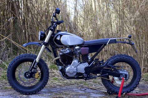 Gentil 36 Best Retro Supermoto Images On Pinterest | Custom Bikes, Honda Scrambler  And Motorcycles
