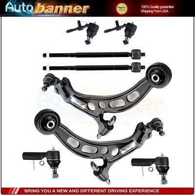 For 1992-1995 Honda Civic 10pcs Front Upper Lower Control Arms Suspension Kit