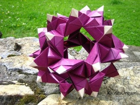 Origami ❉ Regatta ❉ Kusudama - YouTube