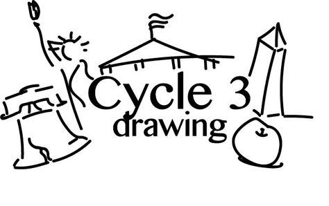 Cycle 3 Drawing Archives - Inside The Lines Lessons The New School, New School Year, Cc Drawing, Line Lesson, North American Animals, Cc Cycle 3, Classical Education, School Daze, Cycling Art