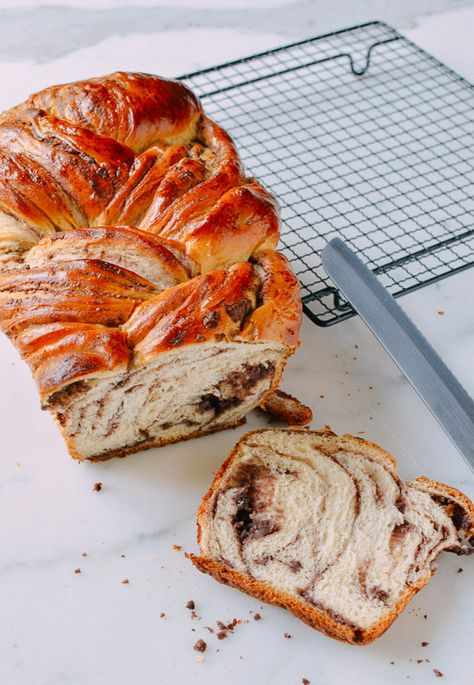 Red Bean Bread Recipe, homemade red bean paste and our best Milk Bread Recipe by thewoksoflife.com