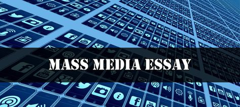 Essay on Mass Media - Important for all class students can be used in exam or any kind of competitive exam. Mass Media Essay is suitable for all class