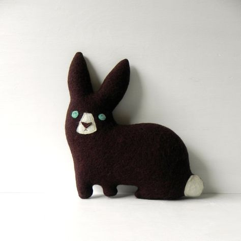 the Hare by ThreeBadSeeds on @Etsy #easter