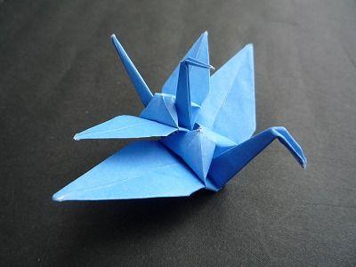 親子の鶴を折ってみよう 二羽の鶴 裁ち折り紙 折り鶴 Tachi Origami 折り鶴 折り紙 つる 鶴 折り紙