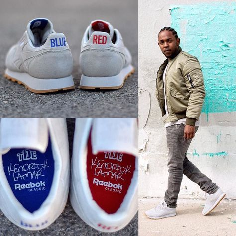 d27ef71d7f3 NEW ARRIVALS  After releasing their first collaborative sneaker last year  Compton rapper Kendrick Lamar and sportswear brand Reebok join forces once  again ...