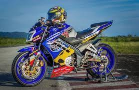 Modifikasi Motor Vixion Movistar Motor Motor Yamaha Sepeda Motor