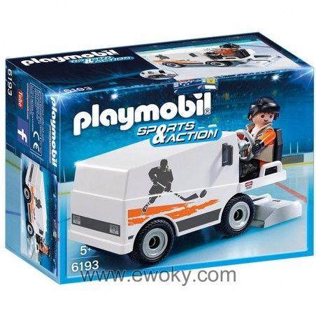 Https Www Ewoky Com Es 49298 Pulidora Hielo Playmobil Sports Action Playmobil Tienda Friki Munecos Figuras Funko Pop Espana Zamboni Playmobil Ice Hockey Rink