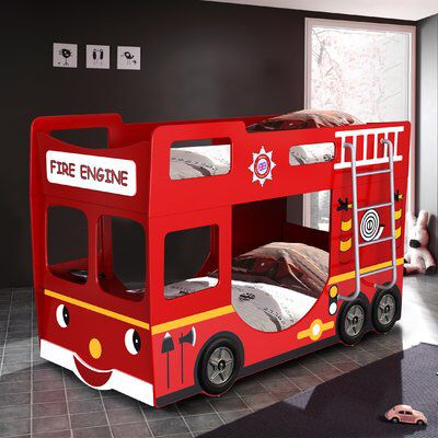 fire engine tent for cabin bed