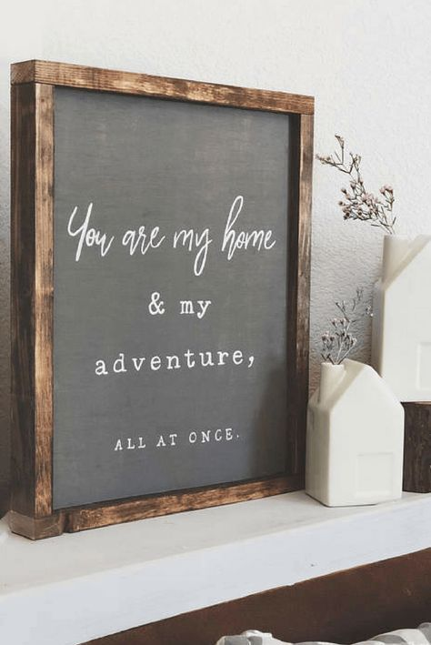 Love gold sign love romantic saying Fall in love sign lovely home decoration Standing sign or a wall decor sign