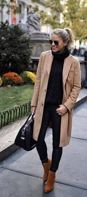 40+ Simple and Classy Winter Outfit ideas 2019 for ladies