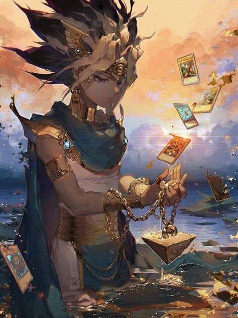 Pharao Coole Zeichnungen Fantasy Figuren Und Atem Yugioh