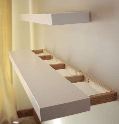 Diy Floating Shelves Floating Shelves Diy Wood Floating Shelves